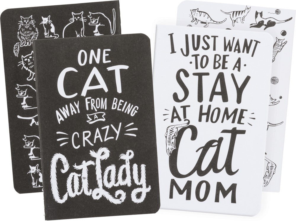 Small Notebook Set of 2 - Cat