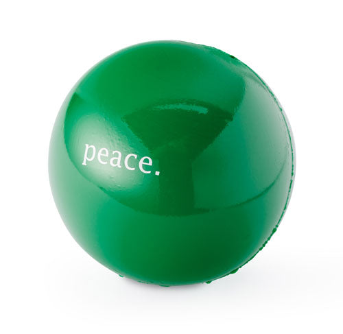 "Poocheo.com: Orbee-Tuff Holiday Peace Ball - 2.5"" Ball for Dogs - Guaranteed Tough"