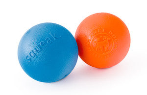 "Poocheo.com :Orbee-Tuff Squeak - 3"" Ball for Dogs - Guaranteed Tough"