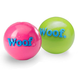 "Poocheo.com: Orbee-Tuff Woof Ball - 3"" Ball for Dogs - Guaranteed Tough"