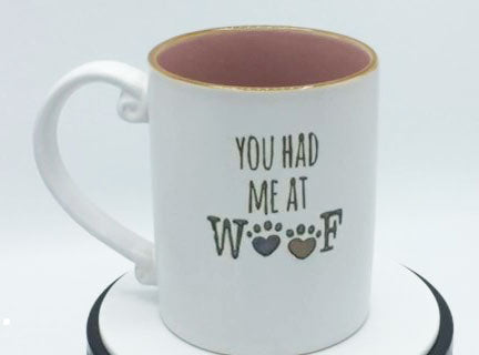 You Had Me at Woof - Mug by Spectrum