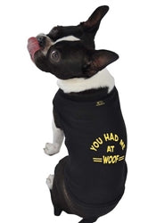 Poocheo:You Had Me at Woof Tank Top by Ruff Ruff & Meow