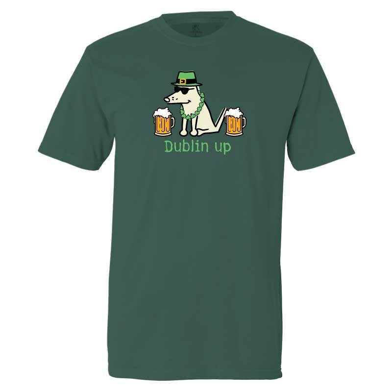 Teddy the Dog Classic Tee - Dublin Up