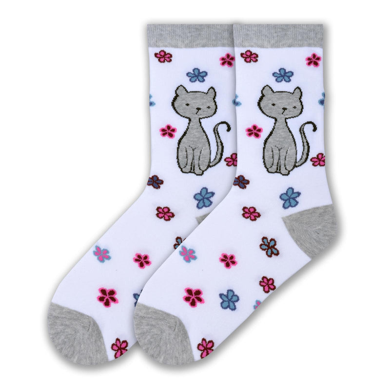 Women's Sweet Kitty Crew Socks