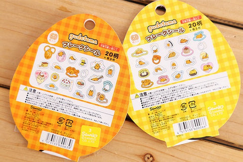 Gudetama Decal Stickers Series 1 (Yellow)