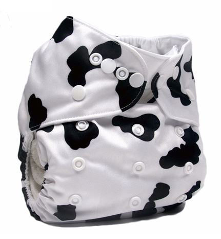 Daily-Soft Washable Diapers (Cow)