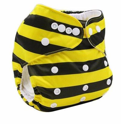 Daily-Soft Washable Diapers (Bee)