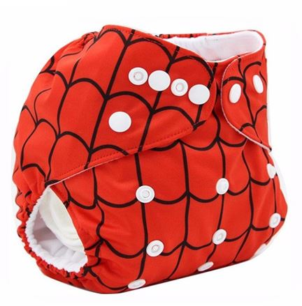 Daily-Soft Washable Diapers (Spiderman)