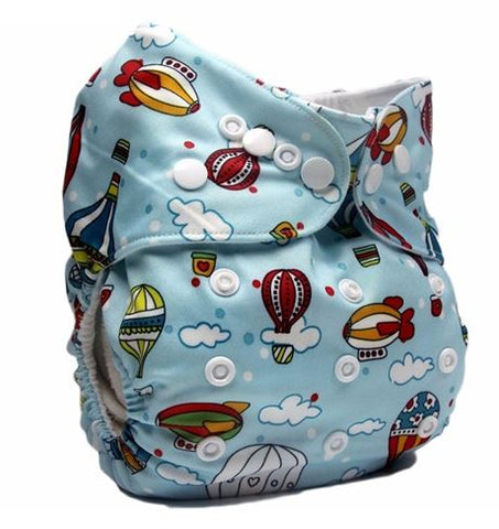 Daily-Soft Washable Diapers (Hot Air Balloon)