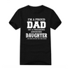 Image of I'm A Proud Dad of A Freaking Awesome Daughter T-Shirt