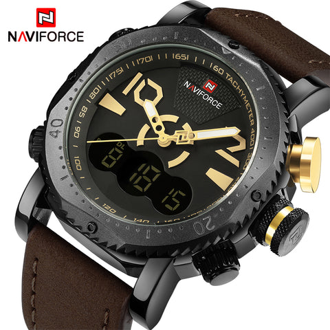 NAVIFORCE NF9094BY Men - Dual Display Series