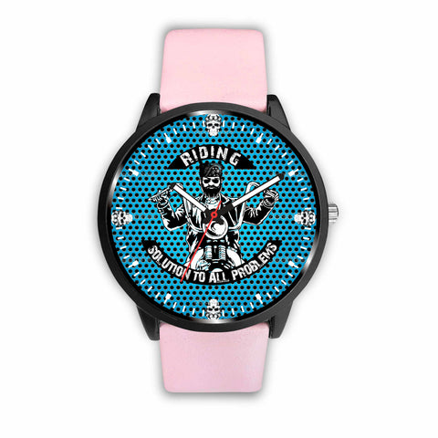 Custom Designed Bikers' Watch Blue