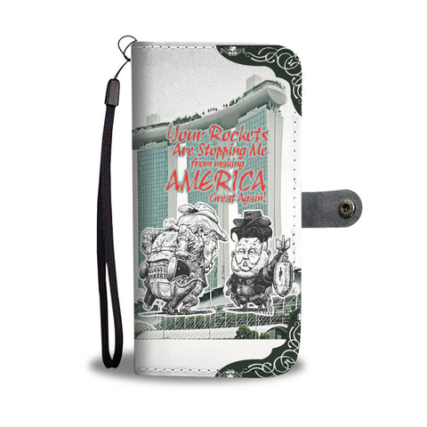 Making America Great in Singapore Wallet Phone Case