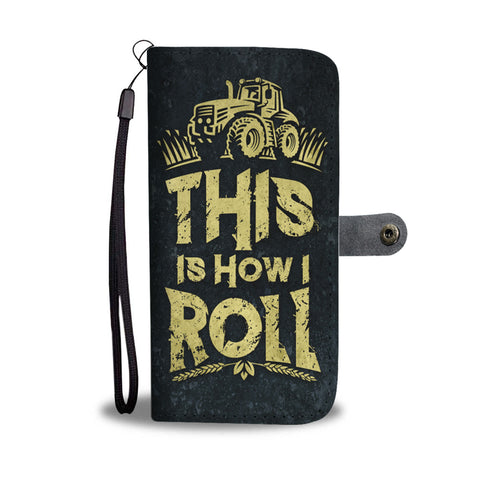 Farmer Rolling Wallet Phone Case