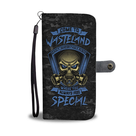 Wasteland Fallout Wallet Phone Case