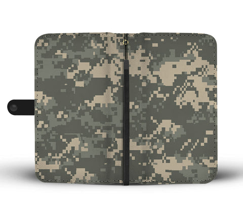 Camouflage Wallet Phone Case