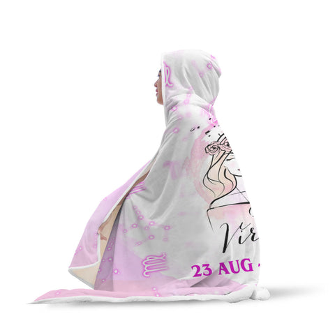 Taffy Virgo Hooded Blanket