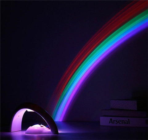 Magical Rainbow Led Projection Lights - Bring Magical Sensation to your room!