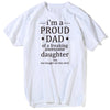 Image of I'm A Proud Dad Of Freaking Awesome Daughter T-Shirt