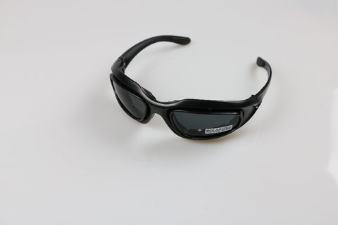 ToughGlasses - USA Military Grade 4-in-1 UV400 Polarized Sunglasses Set