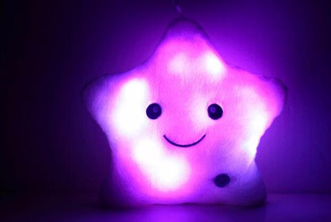 Luminous Star Pillow with Color Changing Led Light - Highly Popular!