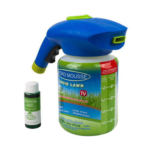 Hydro Mousse Liquid Lawn Seed Sprinkler