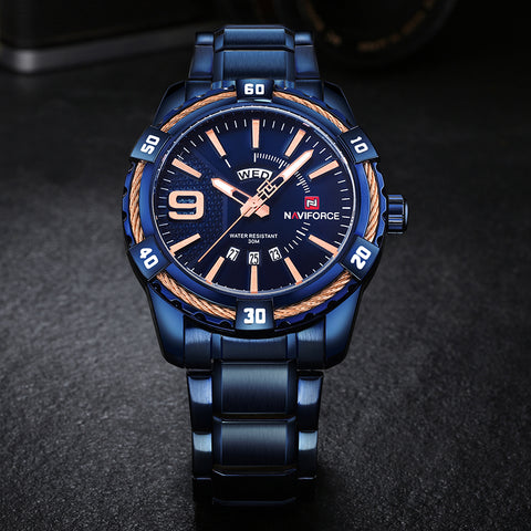 NAVIFORCE NF9117 Men - Quartz Series