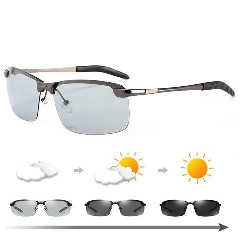 Photochromic Polarised Sunglasses