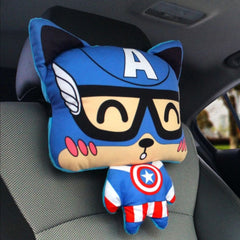Image of Captain America Neck Pillow Series 1