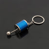 Image of 6-Speed GearBox Shifter Keychain