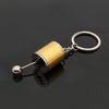 Image of 6-Speed GearShift Keychain