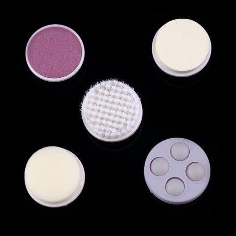 5 in 1 Electric Facial Pore Massage Cleanser Brush