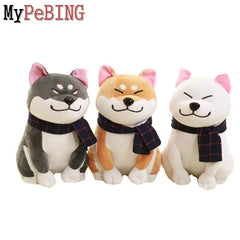 Image of Cute Shiba Inu dog plush soft stuffed toy 25cm/9.84''