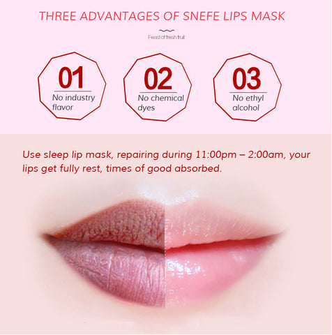 Golden Lips Miracle Lip Mask