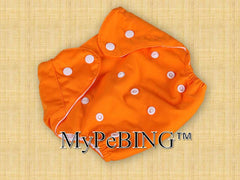 Image of Air-Max Washable Diapers (Orange)