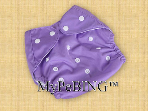 Warm-Clad Washable Diapers (Purple)