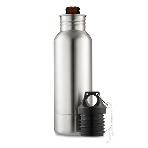BottleKeeper V2 - 2-in-1 Innovative Tumbler for Drinks and Bottle!