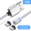 Image of Magnetic Charging Cable for Micro-USB / Lightning / Type C