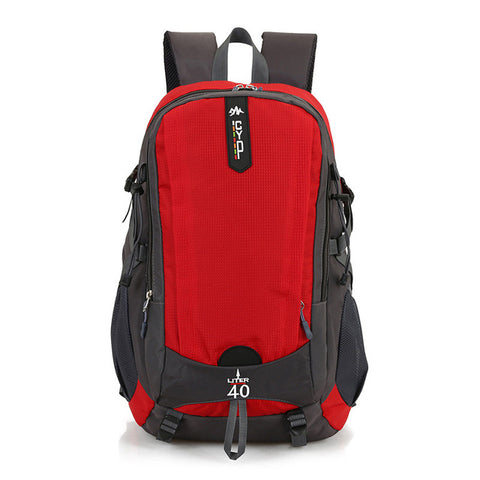 2018 Design Large Capacity 40L Waterproof Sports Backpack