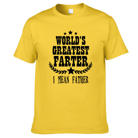 World's Greatest Farter (Father) T-Shirt