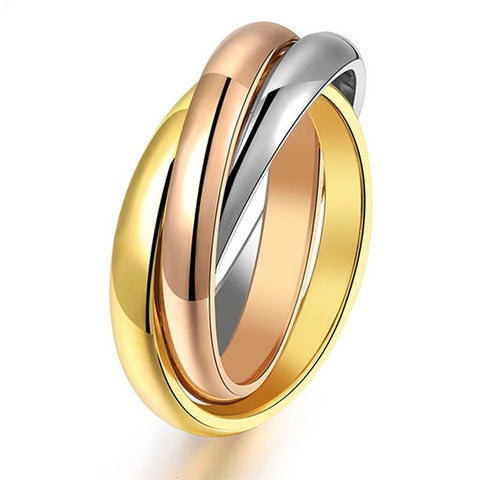Romantic Curves Couple Ring