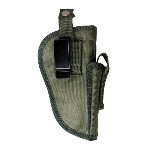 Interchangeable Pistol Holster with Magazine compartment