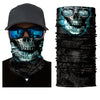 Image of Vicious Skull Design Headwear Face Mask