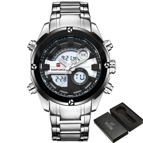 NAVIFORCE NF9088B Men - Dual Display Series