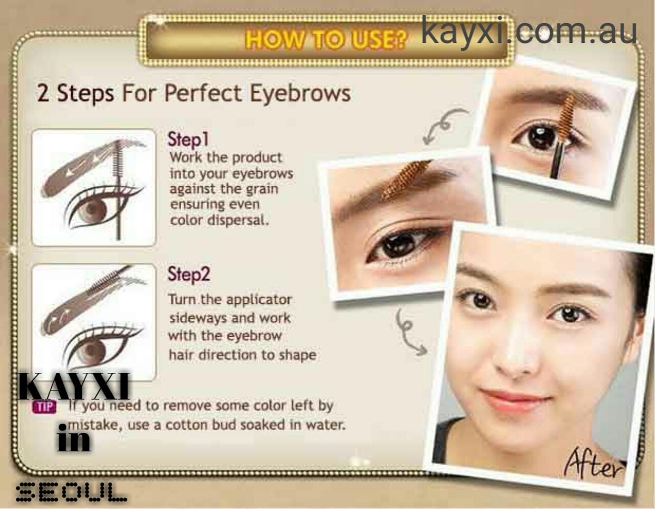 Etude House Colour My Brows 45g Kayxi From Tokyo To Seoul Color Brow