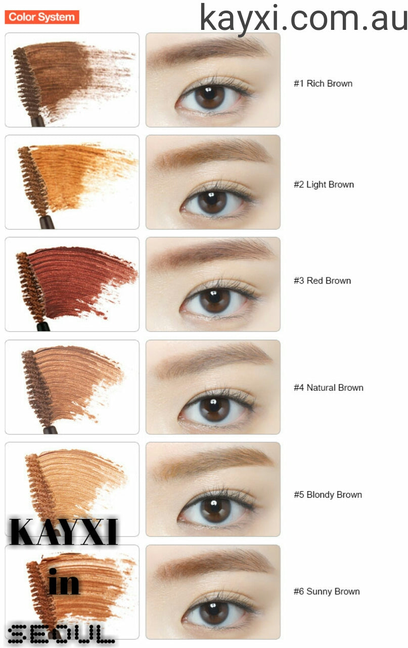 cd00a71dccb ETUDE HOUSE] Colour My Brows 4.5g – KAYXI From Tokyo To Seoul