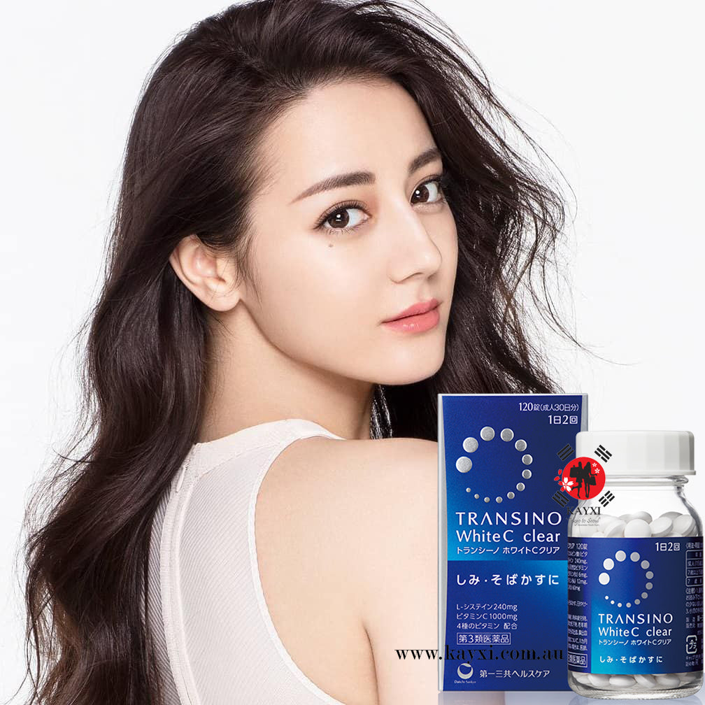 TRANSINO] White C Clear Skin Whitening Supplement 120 Tablets – KAYXI From Tokyo To Seoul