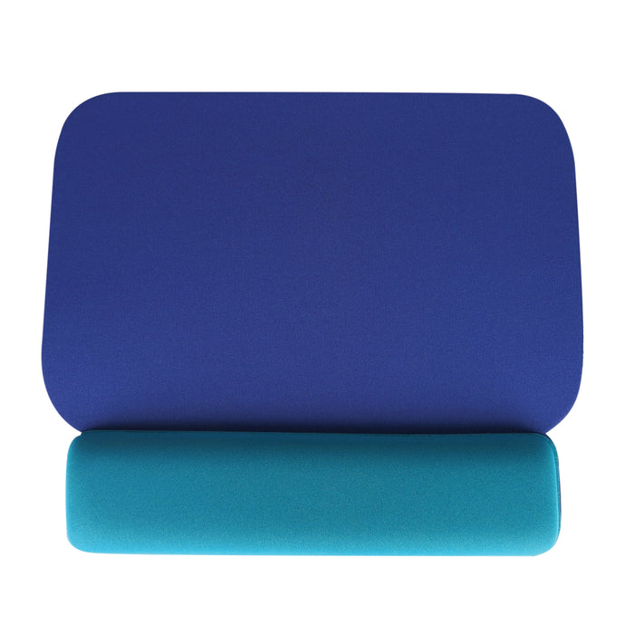 DAC® MP-25 Economy Mouse Pad with Palm Support, Blue