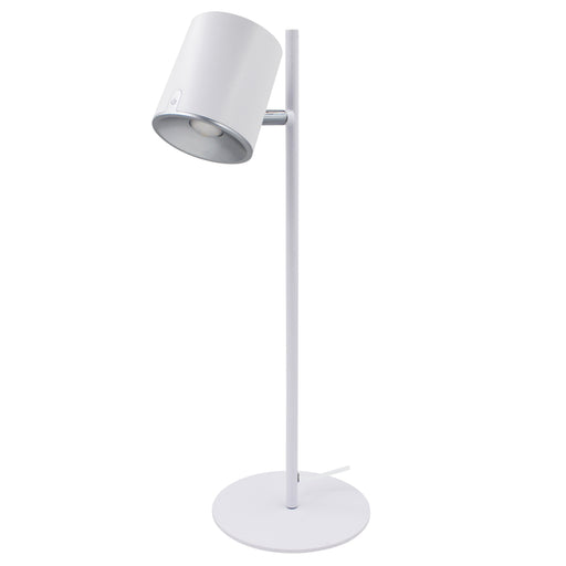 DAC® MP-324 Metal LED Desk Lamp with 340° Rotating Head, White