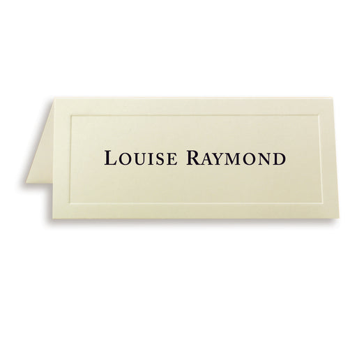 St. James® Overtures® Traditional Embossed Place Cards, Ivory, Pack of 60
